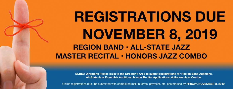 2019 Registration Graphic Reminder