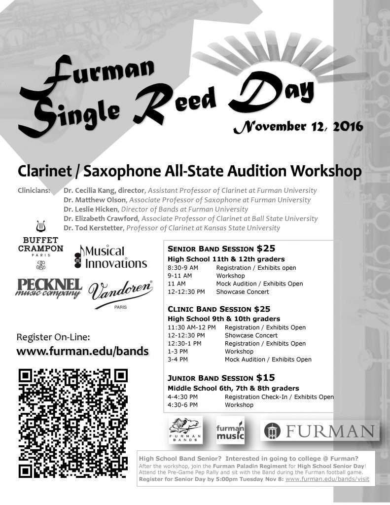 2016-furman-single-reed-clinic