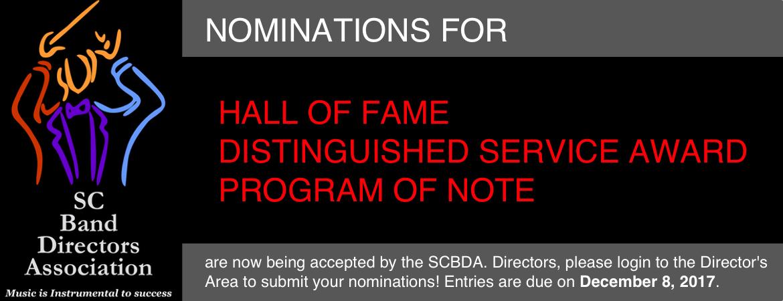 2017 Nomination Reminder