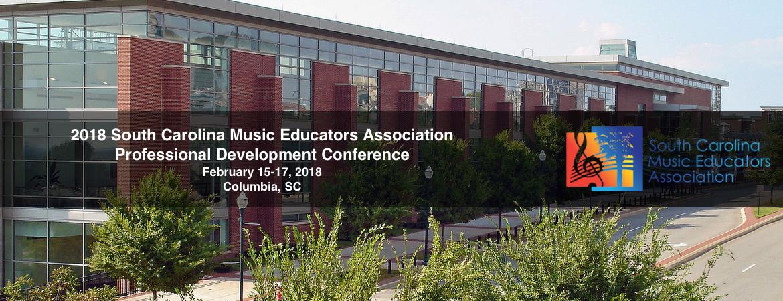 2018 SCMEA Conference Graphic